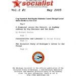 The Michigan Socialist – May 2005
